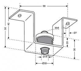 Mecanocaucho виброопоры для инженерного оборудования