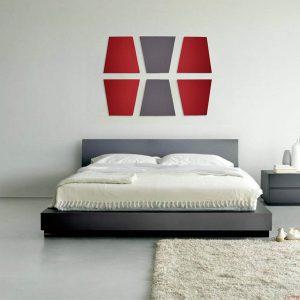 Акустическая панель с текстильным покрытием Base