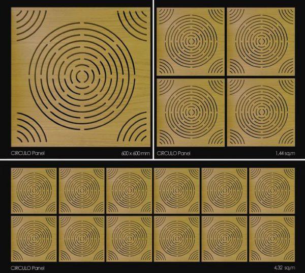 Circulo Panel - перфорированная акустическая панель