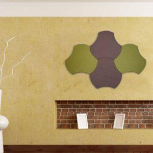 Акустическая панель с текстильным покрытием Stelio