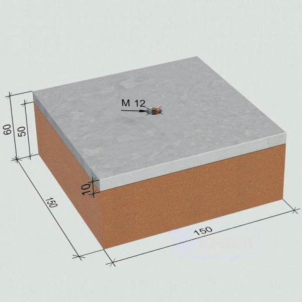 Виброфлекс SM 250/50 Тип А виброопора для инженерного оборудования